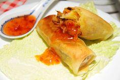 SPRING+ROLLS Spring Rolls, Fresh Rolls, Cooking Recipes, Ethnic Recipes, Food, Egg Rolls, Chef Recipes, Meals, Eten
