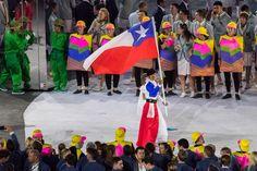 """#ChileEnRío en Twitter: """"Erika Olivera, la Abanderada de #ChileEnRío en los #JuegosOlimpicos foto: Óscar Muñoz. https://t.co/4tuZyh3Ni9"""""""