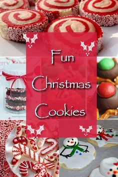 Christmas Cookies - These are all amazing!