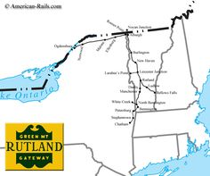 The Rutland Railroad, The Green Mountain Gateway