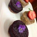 Raw Berry cakes