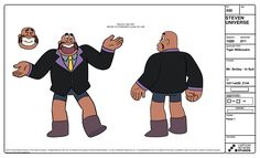 """A selection of Character designs from the Steven Universe episode: """"Tiger Millionaire"""" Art Direction Kevin Dart Lead Character Designer Danny Hynes Character Designer Colin Howard Color Tiffany..."""