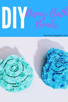 DIY Disney Inspired Bath Bombs - Gingy Love Disney Diy, Disney Crafts, Disney Drinks, Disneyland Secrets, Easy Arts And Crafts, Summer Crafts For Kids, Disney World Tips And Tricks, Disney Inspired, Bath Bombs
