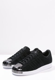 Femme adidas Originals SUPERSTAR 80S - Baskets basses - core black/white noir…