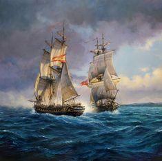 "El""Malagueño""y el Capitán | El pintor de batallas Pirate Art, Pirate Crafts, Pirate Ships, Old Sailing Ships, Sailboat Painting, Ship Paintings, Boat Art, Whitewater Kayaking, Wooden Ship"