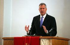 New York city Mayor Bill de Blasio (Photo: Luiz C. Ribeiro for the NY Daily News)