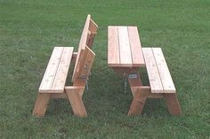folding bench picnic table plans More #woodworkingbench #woodworkingplans