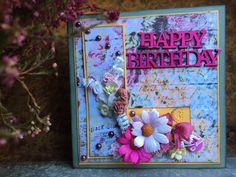 Scrappiness: Inspirasjonsbidrag til utfordring #8 Blomster
