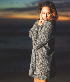 The Smokey Achromatic Textured Open Cardigan is a soft and warm acrylic and mohair cardigan. It has long sleeves and extra wide shoulders for added comfort.
