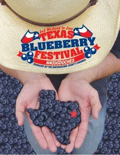 Texas Blueberry Festival  in Nacogdoches in Early June.    TxBlueberryFestPic+-+Hat+and+Hands.jpg (297×385)