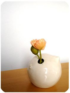 """""""This is a very personal design to me and it gives me a smile everytime when I see the vase holding a little flower. [...]"""" 