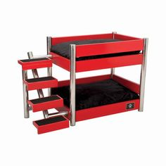 mid century modern dog crate furniture | wooden dog house | fleece