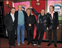 Michael Palin, John Cleese, Terry Jones, Terry Gilliam and Eric Idle could all reunite for the pic. Eric Idle, Terry Jones, Michael Palin, Terry Gilliam, Monty Python, Comedy Tv, Geek Out, Live Action, Celebrity Photos