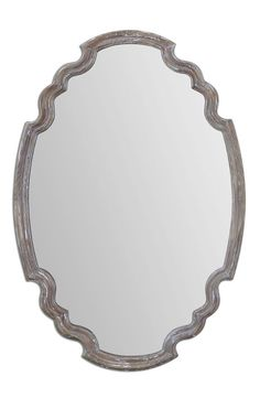 Uttermost Uttermost 'Ludovica' Aged Finish Oval Wall Mirror available at #Nordstrom