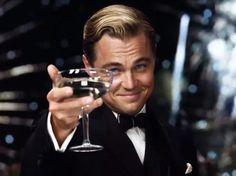Leonardo Di Caprio in The Great Gatsby