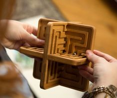 A beautiful wooden plaything to help your mind relax, Zenth offers a modern, 3-dimensional take on the classic labyrinth. It's not designed to challenge or...