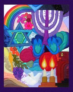 jewish tapestry kits