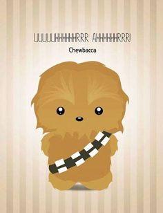 Cute Chewbacca