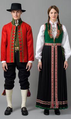 FolkCostume&Embroidery: Overview of Norwegian Costumes part the West. Norwegian Men, Norwegian Clothing, Norwegian Vikings, Elf The Musical, Folk Costume, Costumes, Folk Clothing, Beauty Trends, Traditional Dresses