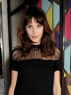 earlysunsetsovermonroeville:    Alexa Chung attends as Nick Grimshaw hosts his first annual award season dinner at Hix, in association with Philips Sound, on February 19, 2013 in London, England.