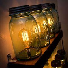 . . . . . How to Recycle: Creative Ways to Transform Mason Jars