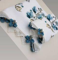 Elegant Table, Hanukkah, Ribbon, Flowers, Pattern, Handmade, Design, Board, Knit Crochet