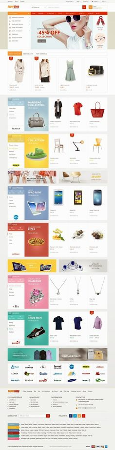 SuperShop Responsive Multipurpose Prestashop Theme 2015