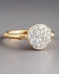 Pave Diamond Ring by John Hardy at Neiman Marcus.