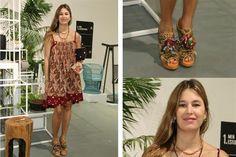 Ohlaleando: mirá lo que se puso Brenda Gandini  Dolores Barreiro, fiel a su estilo, eligió un vestido suelto y zapatos haciendo juego Foto:Gentileza Prensa
