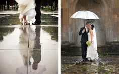 4 совета на случай, если в день свадьбы пошёл дождь