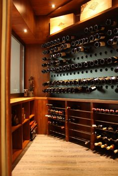 Huge wine rack? Oh why yes of course!