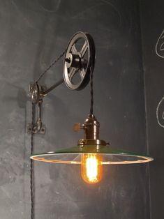 Edison Lighting, Industrial Lighting, Cool Lighting, Lighting Design, Decor Industrial, Industrial Interiors, Vintage Lighting, Industrial Design, Pendant Lighting