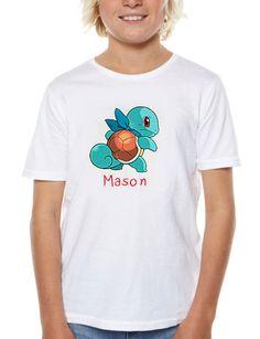 Pokémon Iron On Transfer Shirt -Pokémon DIY Iron On Transfer - Pokémon Shirt - Pokémon Birthday -Pokémon Printable-Pokémon DIY Kids shirt by DigitalArtMovement on Etsy