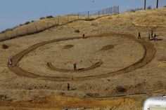 Happy face hill Simi Valley