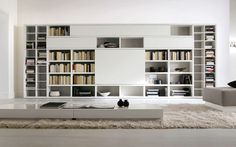 astonishing furniture wonderful white lacquered contemporary big bookcase design cool home interior book storage cool bookcases perfect for ...