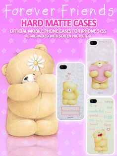 iPhone 5/5s Forever Friends Cases.The world's most famous and original cute bear comes to life as irresistible gifts of love and friendship for any occasion. This Forever Friends Hard Back Case features the original cute bear.