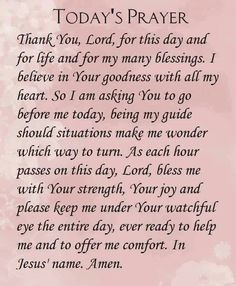 10 sunday prayer quotes and sayings for the day. Prayer Scriptures, Bible Prayers, Faith Prayer, God Prayer, Prayer Quotes, Catholic Prayers Daily, Bible Verses, Bible Quotes, Qoutes