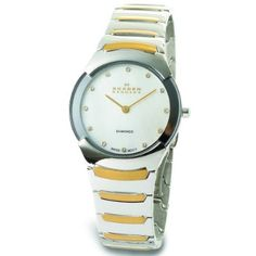 Skagen Women's 582SGXD Swiss Steel Bracelet Watch:Amazon:Watches