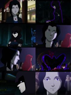 """professor-maple-mod:  ambris:  belladavina:  Raven in the sneak peek for the new """"Justice League vs Teen Titans"""" animated movie!  WAIT WHAT THIS IS GONNA BE A THING?  oh my god. @vronboy"""