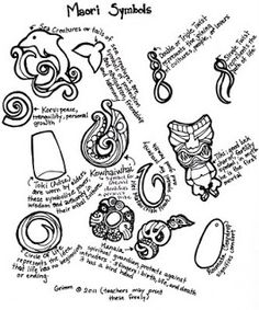Art Education Daily: maori design lesson plan