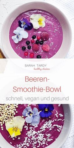A smoothie bowl is a nutritious power breakfast or . - A smoothie bowl is a nutritious power breakfast or a healthy afternoon snack. Suitable for food int - Smoothie Bowl Vegan, Smoothie Menu, Green Smoothie Recipes, Healthy Afternoon Snacks, Healthy Snacks For Kids, Organic Dinner Recipes, Power Breakfast, Smoothies For Kids, Food Intolerance