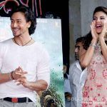 Tiger Shroff and Jacqueline Fernandez shake a leg at a promotional event View pics!