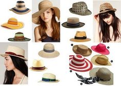 🎩 Chapéus Verao - 2012Hats Summer - 2012 -  / 🎩 Hats Summer - Summer Hats 2012 - 2012 -