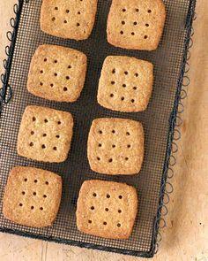 Brown-Sugar and Pecan Shortbread Cookies
