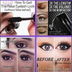 Are you tired of wearing fake lashes? Check out the 3D Fiber Lash Mascara by Younique. It's the best mascara. Hypoallergenic and cruelty free. Order yours today ladies click the link ~~~~> https://www.youniqueproducts.com/tinaclarke/party/238693/view