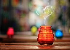 Heart Bokeh / 50 Ideas of Love Photography