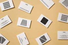 Branding and packaging by graphic design studio Tsto for furniture and homeware store Artek Helsinki. Opinion by Richard Baird. Blog Design Inspiration, Design Blog, Design Art, Daily Inspiration, Print Design, Design Ideas, Cool Business Cards, Business Card Design, Creative Business