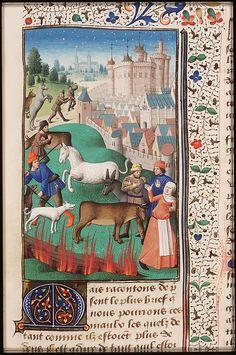 De Civitate Dei, St.Augustine,c. 1475-1480,Paris,Den Haag,mmw 10a11, fol. 145r, Museum Meermanno Westreenianum