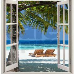 Beach House Shower Curtain On CafePress.com