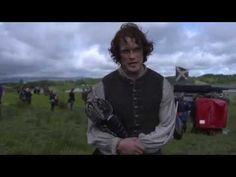 Sam Heughan - Outlander Season 3 set - YouTube